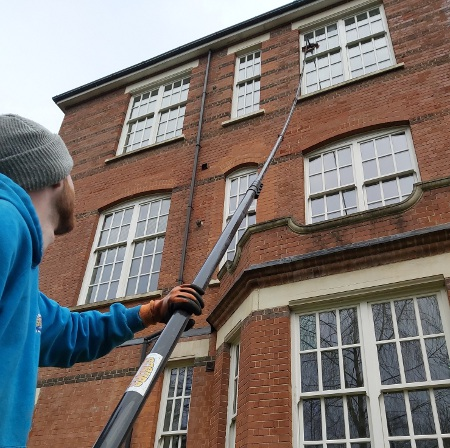 Window Cleaning for Tall Buildings Hertfordshire